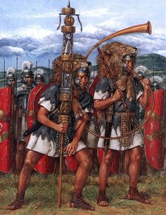 """The Third Praetorian Cohort, reign of Domitian"", Richard Hook"