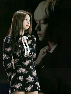 created image by Stefan William, Bts Girl, Couple Wallpaper, Blackpink And Bts, Rhythm And Blues, Music People, Jennie Blackpink, Create Image, Popular Music