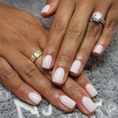 Heres my full guide to neutral nails including 25 neutral nail colors! Neutral nails work for any season, but Ive also broken down neutral nail colors by the time of year youre most likely to find them White Nail Polish, Nail Polish Colors, Opi Gel Polish, Best Nail Colors, Shellac Nail Colors, Gel Manicure Nails, Opi Colors, Spring Nail Colors, Nails Factory