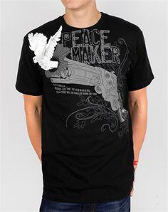 Peacemaker - Christian Mens Shirts for $10.00 | C28.com