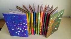 Livros cartoneros do blog Bibliotecas do Brasil e Magnolia Cartonera. http://www.bibliotecasdobrasil.com/2016/01/ideias-para-bibliotecas-livres-um.html