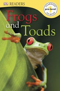 Introduces a variety of frogs and toads and describes their distinguishing characteristics.