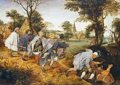 The Parable of the Blind by Pieter Bruegel the Elder | my daily ...