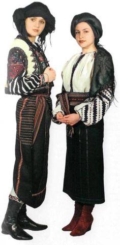Подільський одяг незаміжніх дівчат ~ PODILLIAN Women's Dress, PODILLYA, UKRAINE