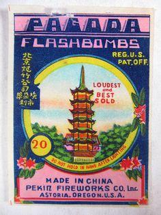 Cl.1 Pagoda Brand