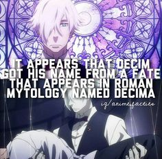 Anime facts death parade