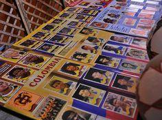Álbumes de Colombia en la Copa América, todas desde 1995-2015, más de 20 años de fútbol / #sports #soccer #fútbol #colección #soccerfan #Bogota #SeleccionColombia
