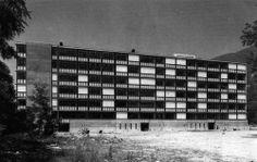 Low-cost housing in Locarno, Switzerland, 1962-65  Luigi Snozzi with Livio Vacchini