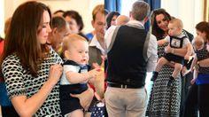 Prince George Wears Smocked Jumper to First Playdate