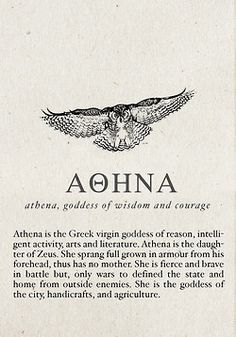 greek quotes mythology | Athena                                                                                                                                                     More