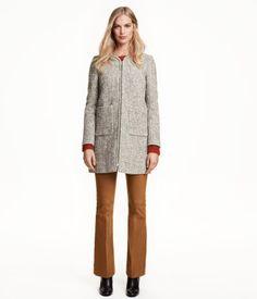 H&M Melange Coat $79.99