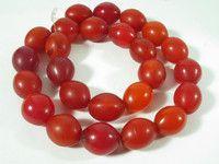 beads.de .:: Original afrikanischer Schmuck, Masken, Kunst- und Gebrauchsgegenstände ::.: 132A Bohemian Trade Beads Glasperlen Böhmen Red Rot