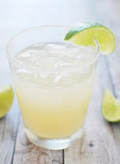 Guava Margaritas from @fakeginger