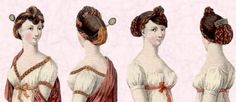 English Regency hair styles | Regency England Hairstyles