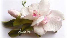 МК Орхидея из фоамирана /How to make Foam Flower orchid , DIY, Tutorial Foam