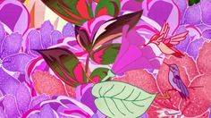 Abstract Flowers And Birds jigsaw puzzle - Click to play now!