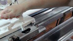 Быстрый способ набора петель на вязальной машине