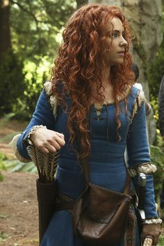 First Look at Merida on Once Upon a Time! | Oh, Snap! | Oh My Disney
