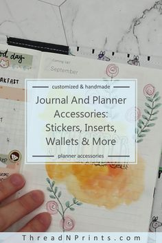 Bullet Journal Stickers Months Of The Year Passion Planner, Happy Planner, Journal Stickers, Planner Stickers, Budget Planner, Monthly Planner, Types Of Planners, Refillable Planner, Custom Journals
