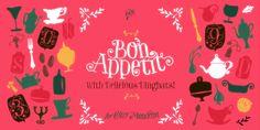 Bon Appetit on Behance