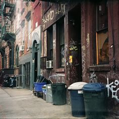 Alphabet City, Reference for RENT set design. Fosse Commune, Photographie New York, New York City, Nyc Pics, Alphabet City, Alleyway, Vintage New York, Lower East Side, City Aesthetic