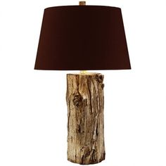 "Goldberg 33"" H Table Lamp With Empire Shade"