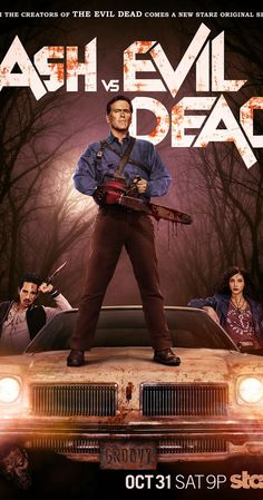 Ray Santiago, Bruce Campbell Evil Dead, Evil Dead Movies, Ash Evil Dead, Top Tv Shows, Hollywood Music, Halloween Movies, Halloween Costumes, New Poster