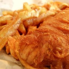 English Pub-Style Beer Battered Fish and Chips Recipe