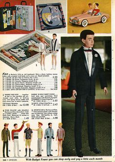1962 - Spiegel Christmas Catalog by Wishbook, via Flickr, my mom's barbie car