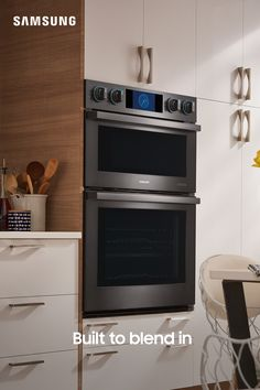 Beauty that blends in. From our stylish  Built-in Wall Ovens, to our stunning Cooktops and Hoods, you can elevate your kitchen decor  to the perfect balance of design and connectivity. Kitchen Remodel, Kitchen Decor, Wall Oven, Kitchen Furnishings, Kitchen Furniture Design, Kitchen Redo, Sweet Home, Home Kitchens, Kitchen Renovation