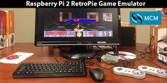 Raspberry Pi 2 RetroPie Game Emulator