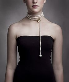 long string pearls