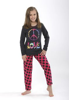 Peace&Love pijama de Britto by Massana Kids