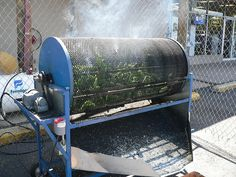 Green Chile Roasting- Las Vegas, New Mexico