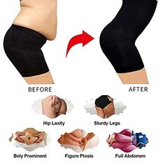 20b495445957de Charmnight Women's Shapewear Thigh Slimmers Hi-Waist Body Shaper Control  Panties,#Thigh,