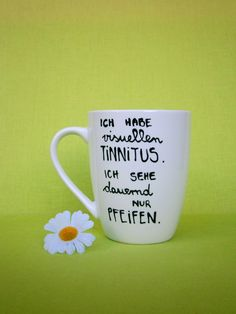 Becher & Tassen - ♥ Tasse mit Spruch ♥ Tasse ♥ Deine Spruchtasse - ein Designerstück von Hoch-Die-Tassen bei DaWanda