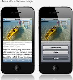 iphone 4s Tips & Tricks.  now i know how to save images on Safari to my Camera Roll on my iphone.  yee-haw.