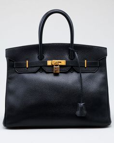 Hermes Black Ardennes Birkin 35cm GHW...I could possibly be convinced to sell my soul for this bag!!!