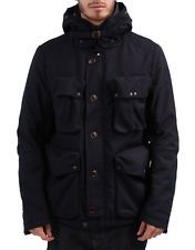 CP Company Men's Woven Field Goggle Jacket Black (CPJK003)