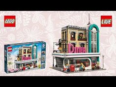 LEGO Creator  American Diner 10260  Let's Build Review Unboxing Deutsch sToNe2k6
