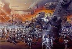 FAN ART: Brilliant Collection Of Original STAR WARS Artwork By Tsuneo Sanda