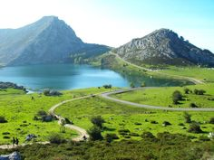 Lake of Covadonga, Asturias