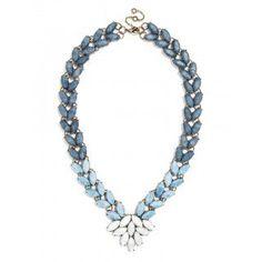 Marble Garland Brooch Collar Necklace | BaubleBar