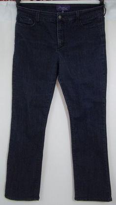 NYDJ Not Your Daughters Jeans Pants Size 14 Straight Leg Lift Tuck Technology #NYDJ #StraightLeg