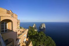 Hotel Punta Tragara Exterior #travel #luxury #hotel