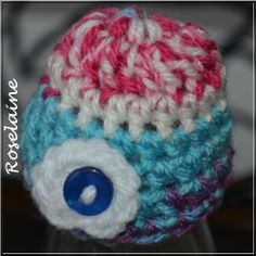 Bonnet crochet 015 Innocent Smoothie Hat