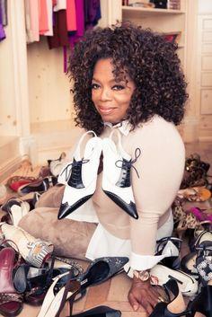 Oprah Winfrey's Chicago Closet