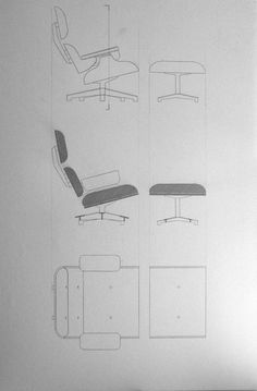 Lounge Chair and Ottoman  - Eames - Vitra