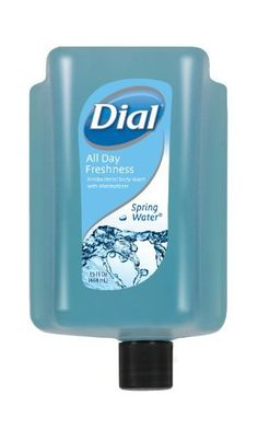 Dial 1435013 Eco-Smart Spring Water Amenity Antibacterial Body Wash, 15oz Refill Cartridge (Pack of 6) by Dial. $40.86