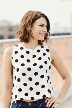 Lauren Cohan at San Diego Comic Con 2014